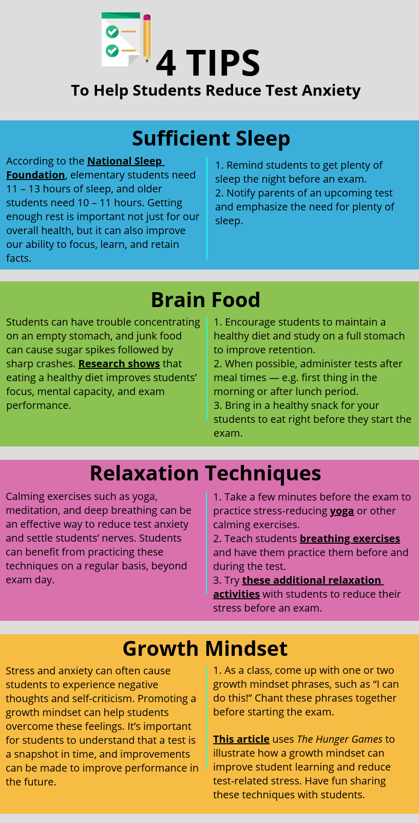 4 Tips for Reducing Test Anxiety in Middle School Students ...