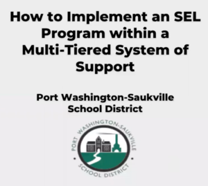 How to implement an SEL program within MTSS