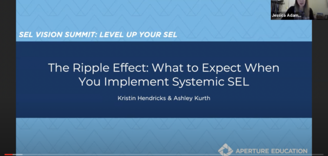 [Webinar] The Ripple Effect: What to Expect When You Implement Systemic SEL